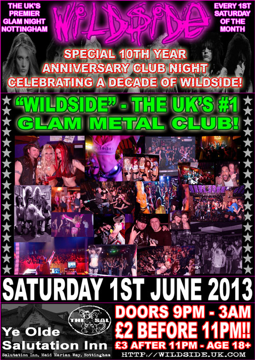 Wildside 10th Year Poster