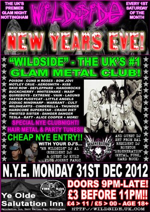 Wildside NYE Poster