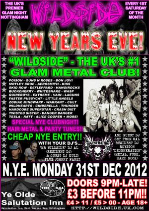 Wildside NYE Poster